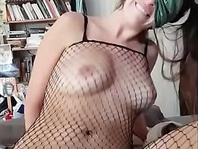 HUGE Boobs Teen Violently Slapped & Punched