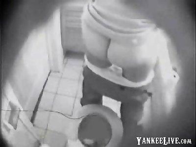 NOT My sister ID regarding toilet caught by hidden cam