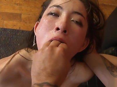 Cute Girl Facefuck