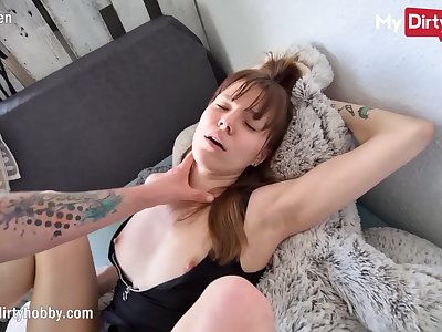 MyDirtyHobby - College babe seduces roommate be proper of a pussycreampie