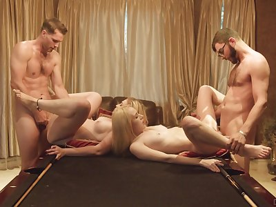 Foursome for be transferred to young babes after they prepare to modulation partners