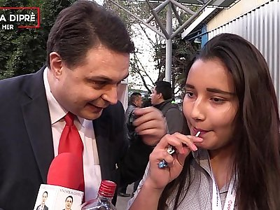 Peculiar video of a mexican girl roughly Andrea Dipre